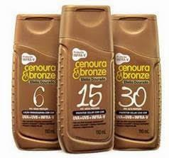 Protetor Solar, Verão, Cenoura & Bronze,