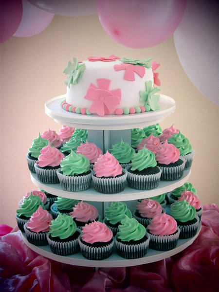 Cake Design For Debut : Biba Party Shop: Jazmine Debut Cake and Cupcakes