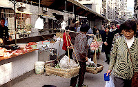 Bang Bang - a chinese coolie on the Market of Wanzhou