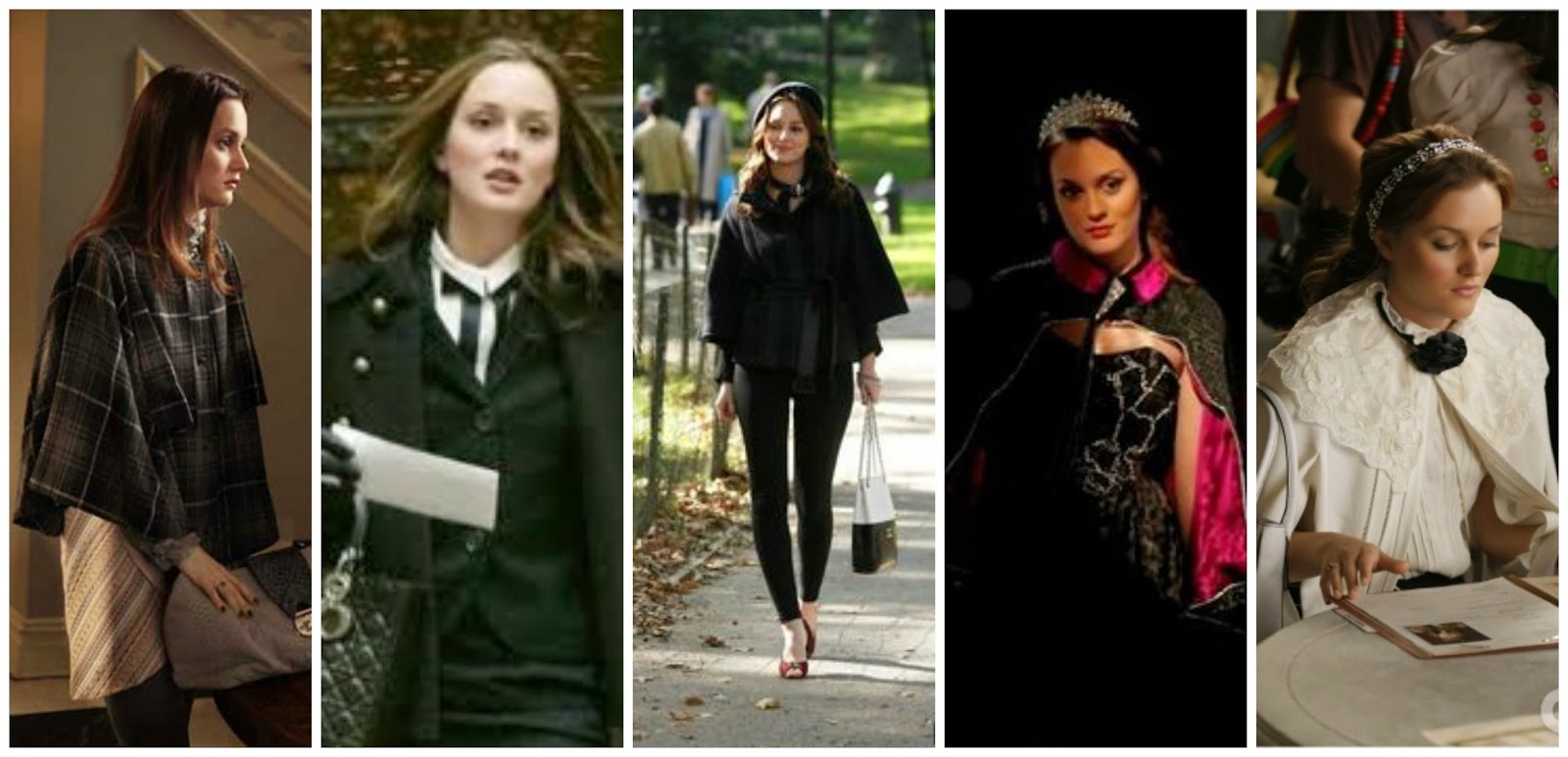 Blair Waldorf style inspiration – Dressing in labels