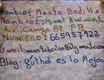 Tarjeta de Marta