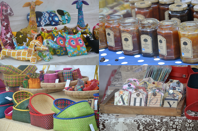 Handmade goods from the Urban Bazaar