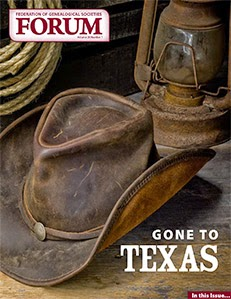 Read now! FGS FORUM: Gone to Texas