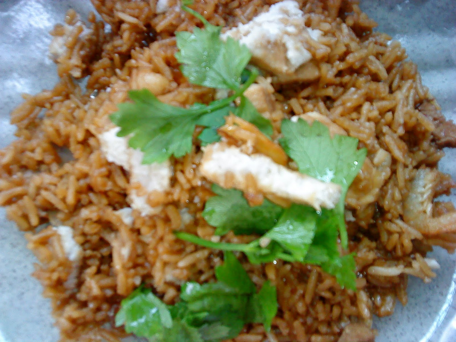 Cooking Pleasure: Family Style Yam Rice