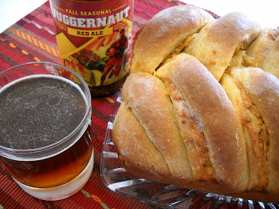 Recipe: Cheddar mustard beer bread