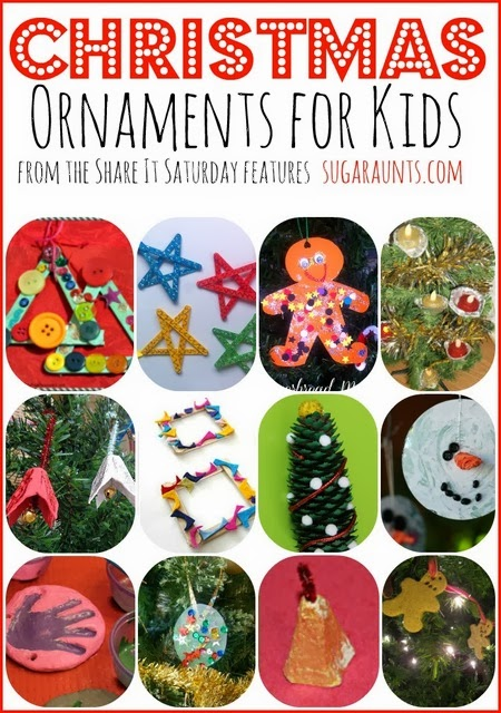 Christmas Ornament Crafts for Kids. Sugar Aunts