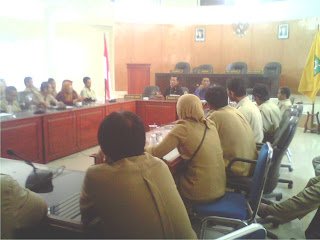 Anggota Forum Tenaga Sukarela Datangi DPRD