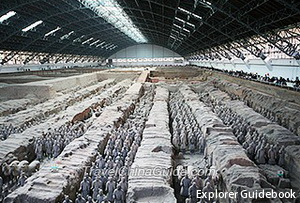 Patung tentara terracotta army china