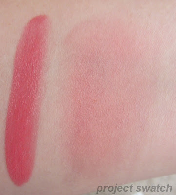 Dragonfruit Beach Tint - heavy & blended swatches