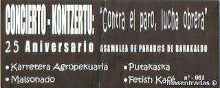 entrada de concierto de putakaska