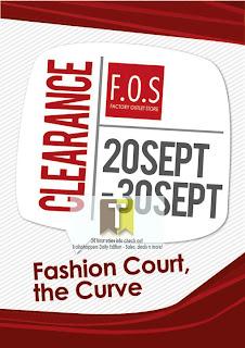 F.O.S Clearance Event SALE 2012