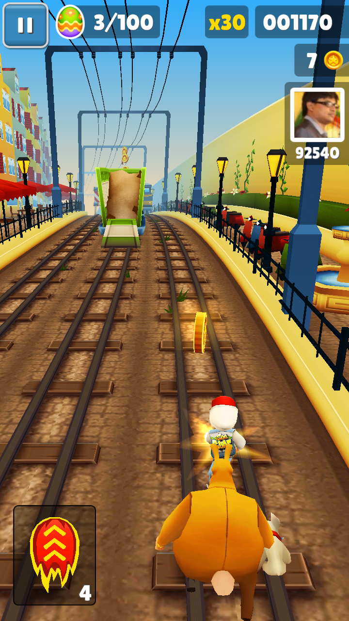 Subway Surfers Rio Updated to Subway Surfers Rome.