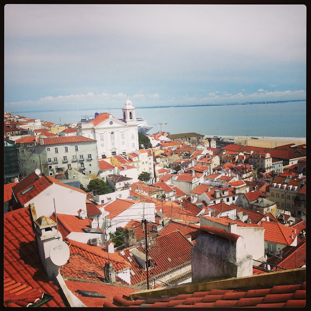 View of Lisbon from Alfama quarter