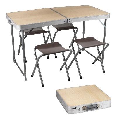 Ikea m s barato que ikea en bcn mesa plegable camping for Mesa plegable con asientos
