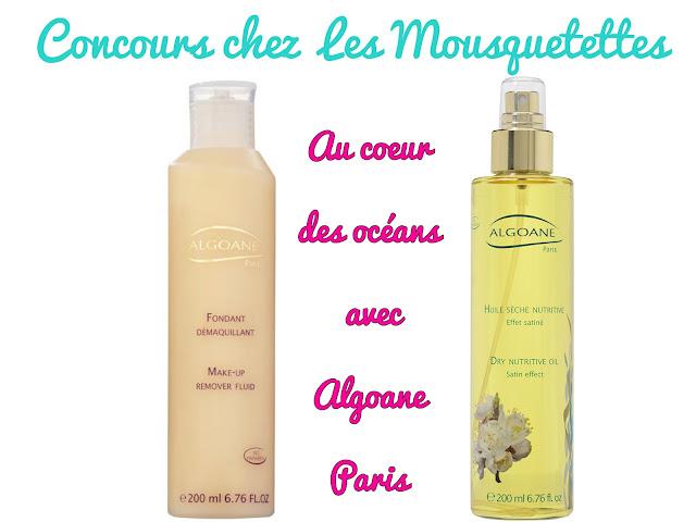 Concours Algoane Paris chez Les Mousquetettes
