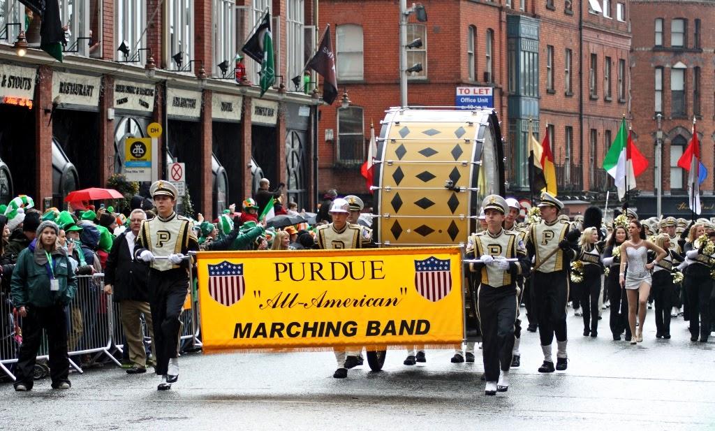 Frases De st-st patrick-saint patrick: Happy St Patick's Day  Marching Band Drum Major