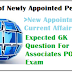 New Appointments October 2014-Expected Questions For SBI Associates PO Exam