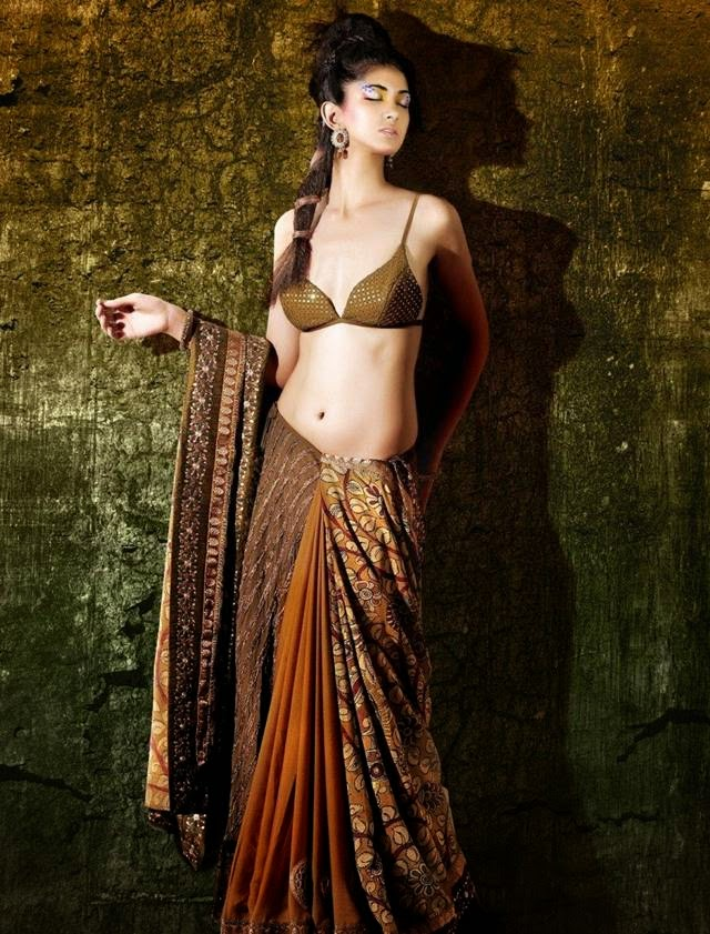 Indian Model Reha Saree Photoshoot