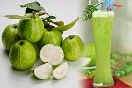 receta para hacer jugo de guayaba