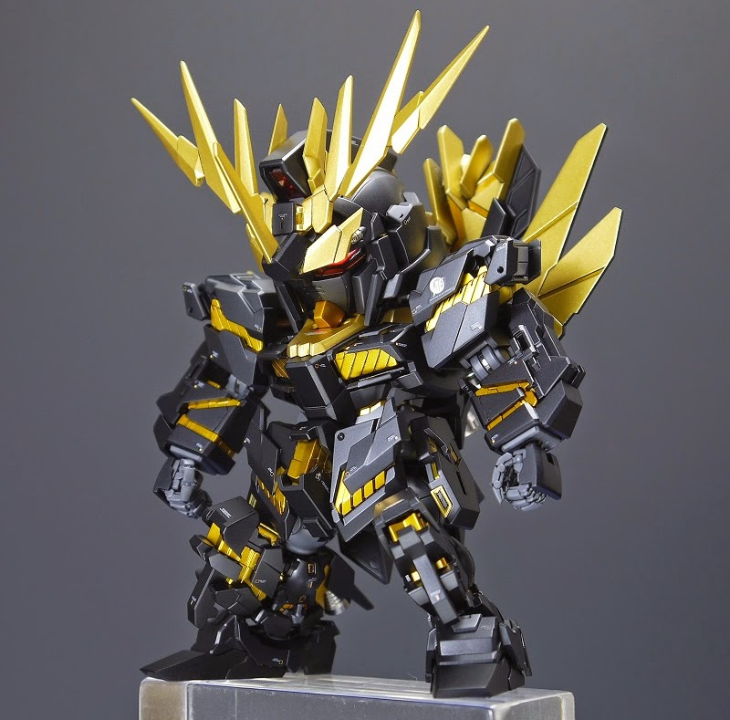 GUNDAM GUY: SD Unicorn Gundam 02 Banshee Norn