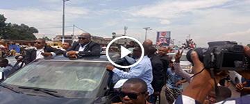 EYINDI na Kinshasa, retour de FELIX TSHISEKEDI, Bayambi ye lokola ROI, 1 millions de congolais