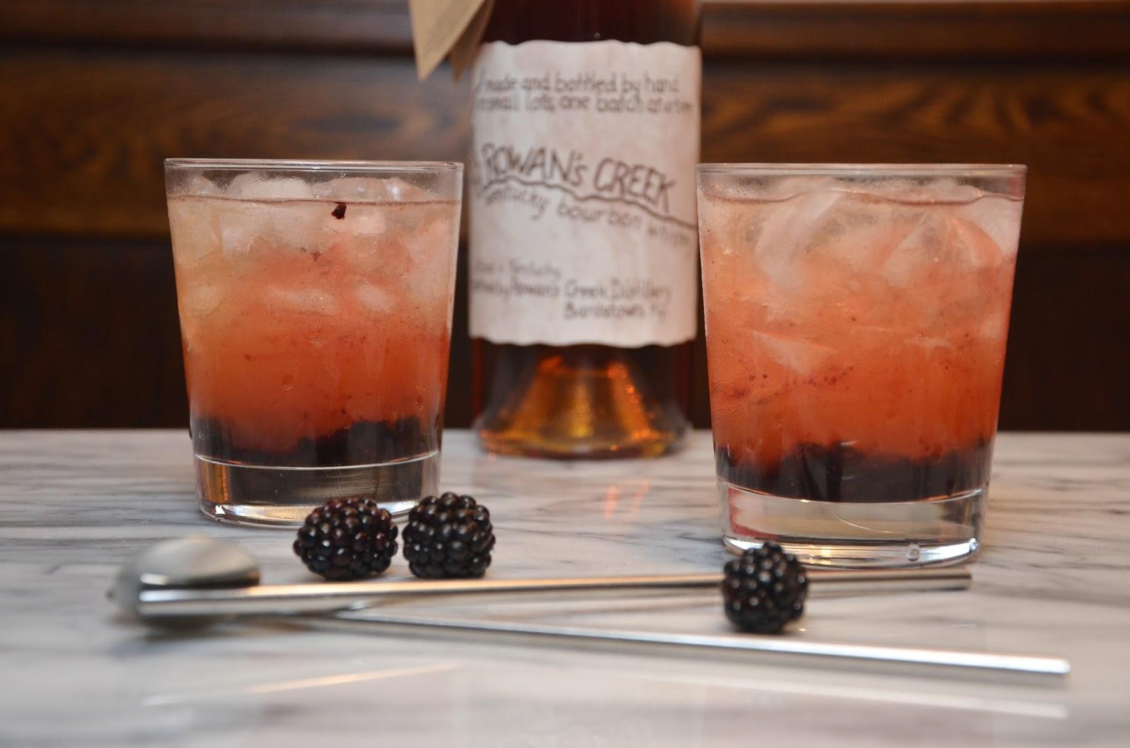 blackberry bourbon lemonade | recipe