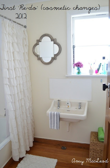 Functional bathroom redo, by Amy MacLeod