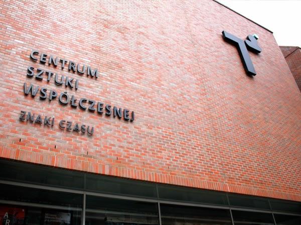 Budynek CSW w Toruniu