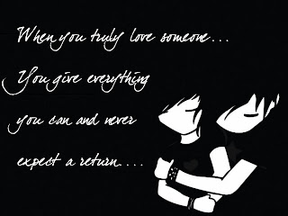 anime you are everything Love Quote and Saying