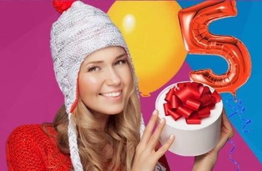 Распродажа брендовых товаров к пятилетию интернет-магазина Aliexpress бесплатная доставка и самые низкие цены на рынке