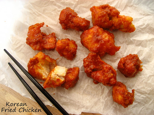 Home Cooking In Montana: Korean Fried Chicken... and Gochujang Garlic ...