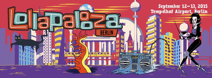 Lollapalooza, Berlín, 2015, Festival, Concierto