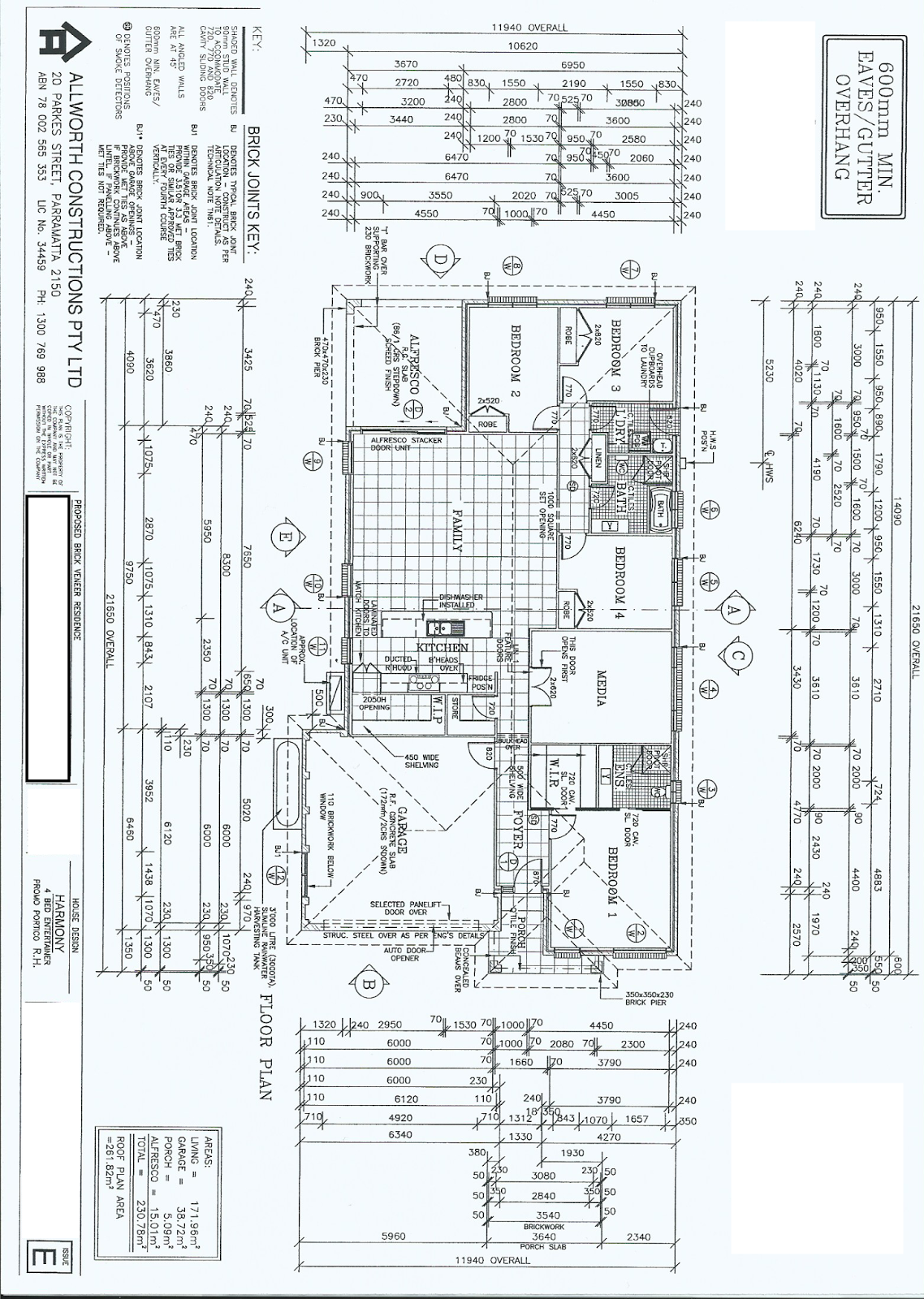Building the dream brooks reach i have finally scanned for Allworth home designs