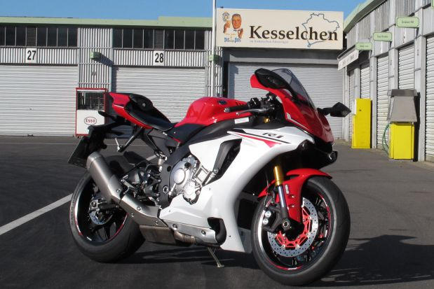 Yamaha YZF-R1 2015 - Track Test