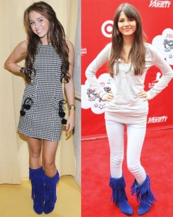 Victoria Justice and Miley CyrusVictoria Justice And Miley Cyrus Manip