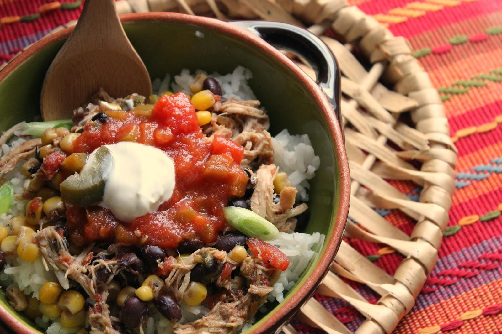 Comfy Cuisine: Crock Pot Santa Fe Chicken