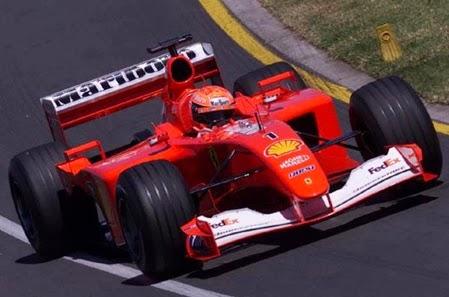 Formula 1 2001 Michael Schumacher/ Ferrari
