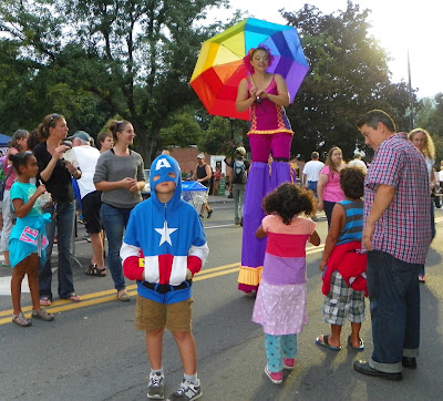 Amherst Block Party. photo by Larry Kelley, Amherst blogger.