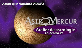 Atelierul Astro Mercur - acum si in varianta audio