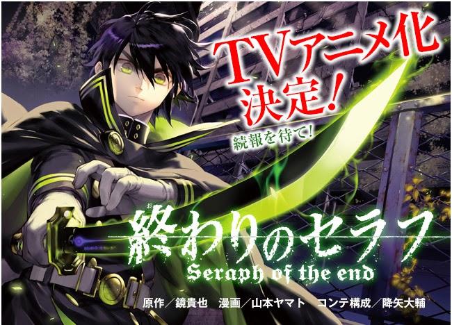 [ Info-Anime ] Anime Owari No Seraph Tayangkan Trailer Baru Dan Umumkan 2 Season Sekaligus