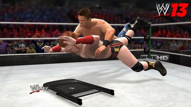 WWE 13 wrestling game