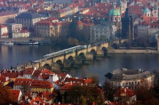 Vistas del río Moldava - Praga