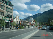 They then went to Banff where they met up with Sam and Pat and Russ and . (banff canada)