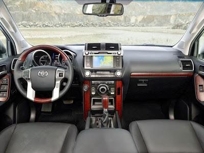 Nuevo Toyota Land Cruiser, interior