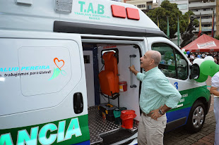 ENTREGA DE AMBULANCIAS