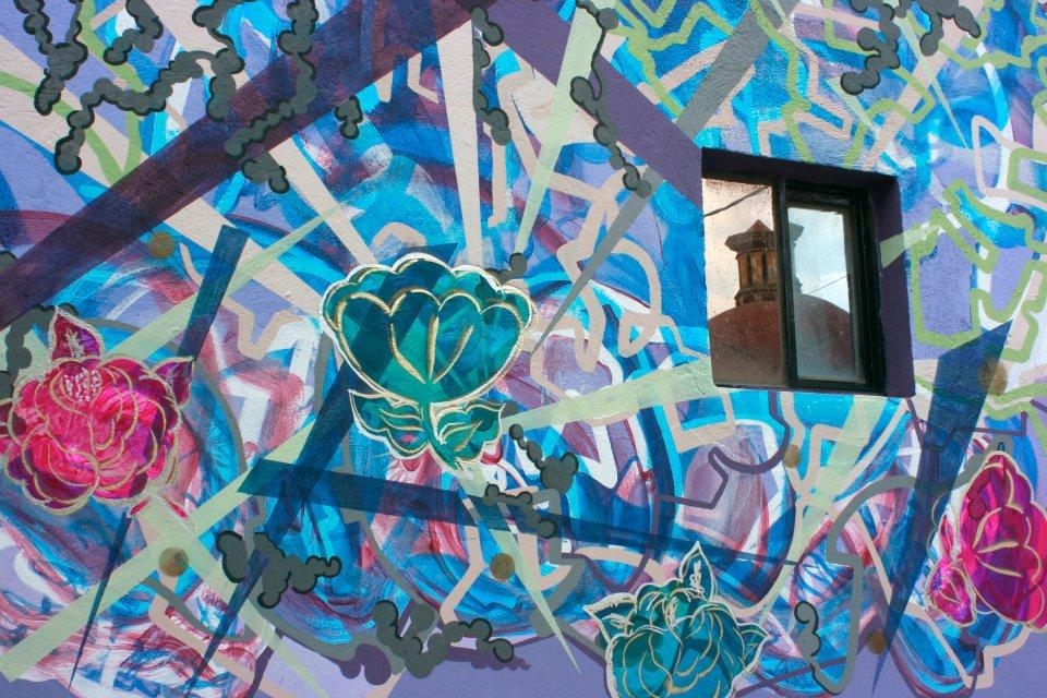 Colectivo t o m a t e soluciones creativas for Arte colectivo mural