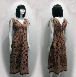 Model baju batik modern 01z