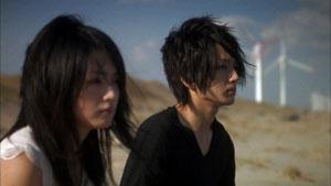 Hiraki Mitsushima y Takashiro Nishijima en Love Exposure
