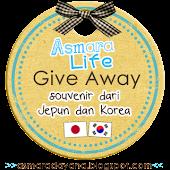 GiveAway Souvenir dari Jepun dan Korea.