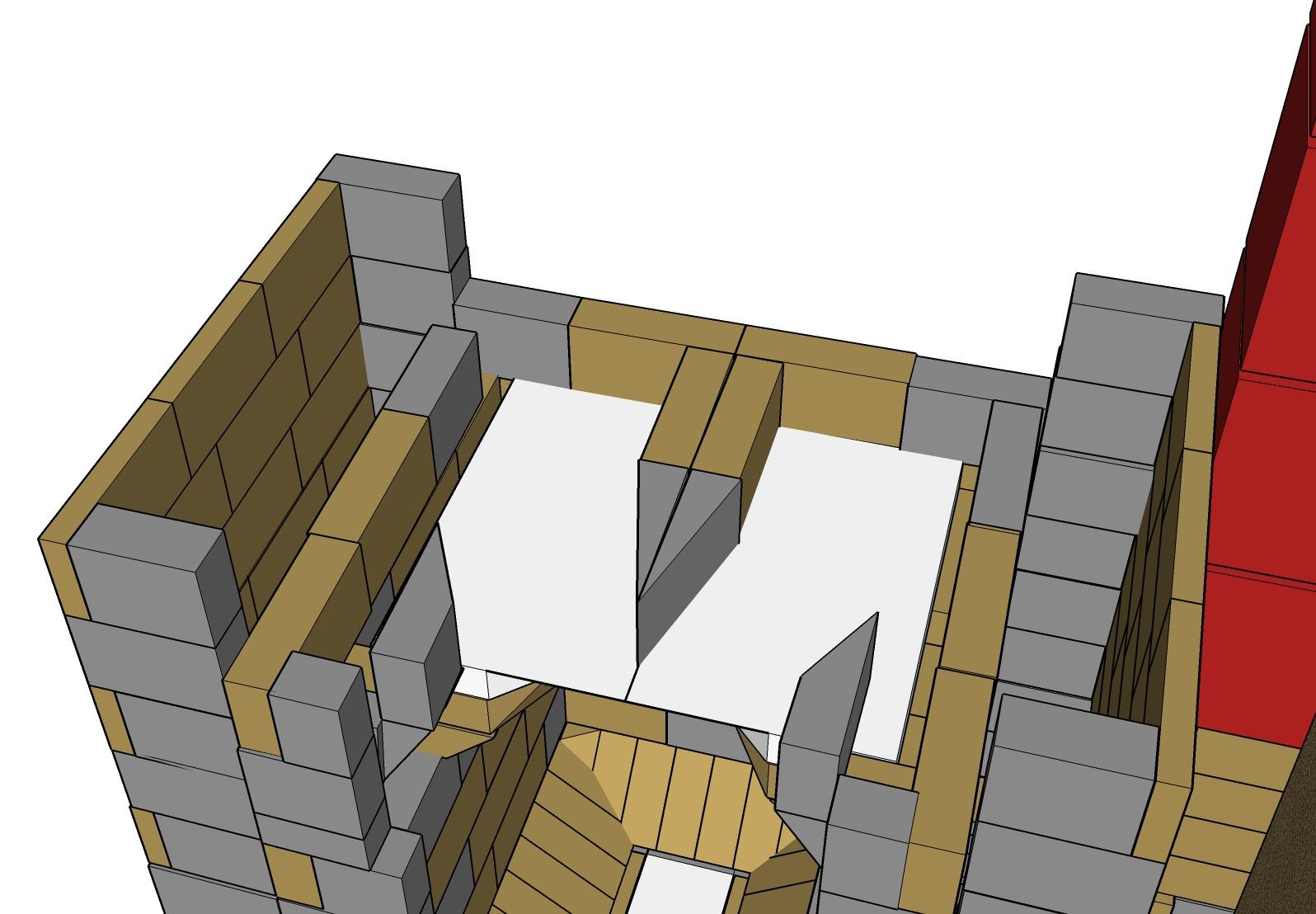 auto construction avec plans d 39 un po le de masse ma onn de type finlandais. Black Bedroom Furniture Sets. Home Design Ideas